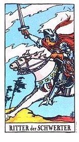 Ritter der Schwerter Tarot