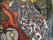 Tarot Augsburg Kaiserin Crowley Waite