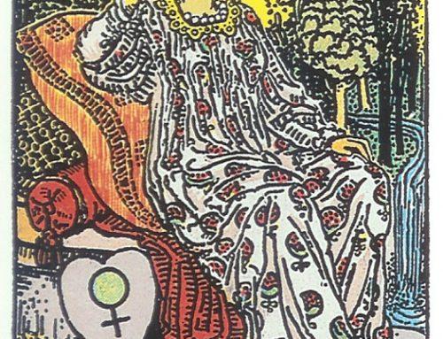 Monatkarte Tarot – Die Kaiserin geht in ihren Höhepunkt